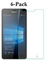 6-pakning Skjermbeskyttelse Microsoft Lumia 950