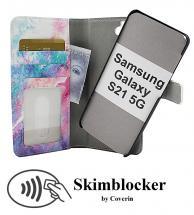 Skimblocker Magnet Designwallet Samsung Galaxy S21 5G (G991B)