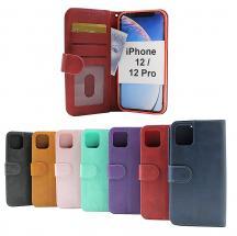 Zipper Standcase Wallet iPhone 12 / 12 Pro (6.1)