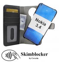 Skimblocker Magnet Wallet Nokia 3.4