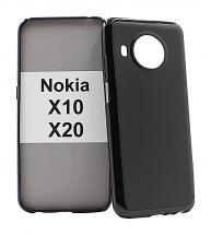 TPU-deksel for Nokia X10 / Nokia X20