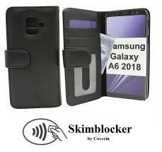 Skimblocker Lommebok-etui Samsung Galaxy A6 2018 (A600FN/DS)