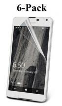 6-pakning Skjermbeskyttelse Microsoft Lumia 650
