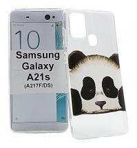 TPU Designdeksel Samsung Galaxy A21s (A217F/DS)