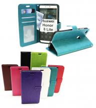 Crazy Horse Wallet Huawei Honor 8 Lite