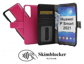 Skimblocker Magnet Wallet Huawei P Smart 2021