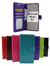 Crazy Horse Wallet Motorola Moto E7