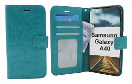 Crazy Horse Wallet Samsung Galaxy A40 (A405FN/DS)