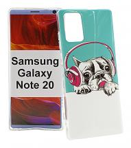 TPU Designdeksel Samsung Galaxy Note 20 5G (N981B/DS)