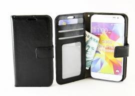 Crazy Horse Wallet Samsung Galaxy Core Prime, Svart