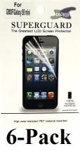 6-pakning Skjermbeskyttelse Samsung Galaxy S5 Mini (G800)