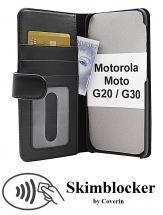 Skimblocker Lommebok-etui Motorola Moto G20 / Moto G30