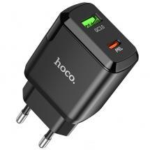 Hoco N5 Dual Vegglader Veggadapter