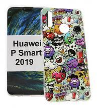 TPU Designdeksel Huawei P Smart 2019