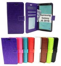 Crazy Horse Wallet Samsung Galaxy J6 2018 (J600FN/DS)