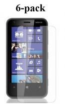 6-pakning Skjermbeskyttelse Nokia Lumia 620