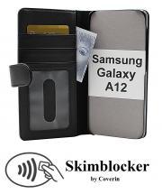 Skimblocker Lommebok-etui Samsung Galaxy A12
