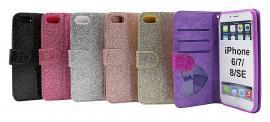 Standcase Glitter Wallet iPhone 7/8/SE 2nd Gen.