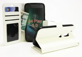 Crazy Horse Wallet Lenovo Motorola Moto G4 Play