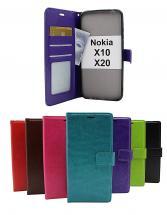 Crazy Horse Wallet Nokia X10 / Nokia X20