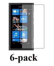 6-pakning Skjermbeskyttelse Nokia Lumia 800