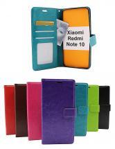 Crazy Horse Wallet Xiaomi Redmi Note 10
