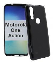 TPU-deksel for Motorola One Action