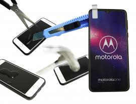 Skjermbeskyttelse av glass Motorola One Macro