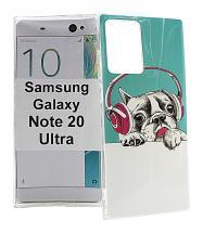TPU Designdeksel Samsung Galaxy Note 20 Ultra 5G (N986B/DS)