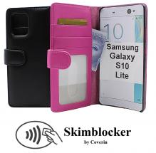 Skimblocker Lommebok-etui Samsung Galaxy S10 Lite (G770F)