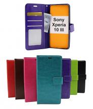 Crazy Horse Wallet Sony Xperia 10 III (XQ-BT52)