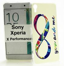 TPU Designdeksel Sony Xperia X Performance (F8131)