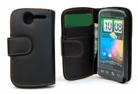 Lommebok-etui HTC Desire, svart