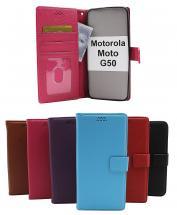 New Standcase Wallet Motorola Moto G50