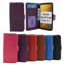 New Standcase Wallet Asus ZenFone Live L1 (ZA550KL)