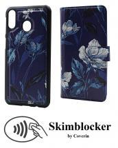 Skimblocker Magnet Designwallet Samsung Galaxy M20 (M205F)