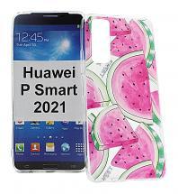 TPU Designdeksel Huawei P Smart 2021