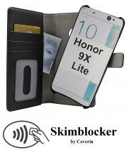Skimblocker Magnet Wallet Huawei Honor 9X Lite