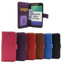 New Standcase Wallet Motorola Moto Z3 Play