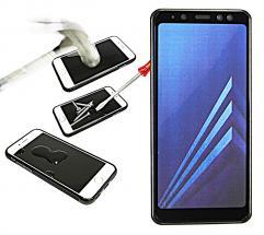 Full Frame Glassbeskyttelse Samsung Galaxy A8 2018 (A530FD)