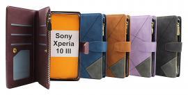 XL Standcase Luxwallet Sony Xperia 10 III (XQ-BT52)