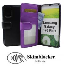 Skimblocker Lommebok-etui Samsung Galaxy S20 Plus (G986B)