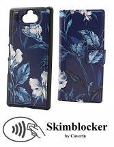 Skimblocker Magnet Designwallet Sony Xperia 10