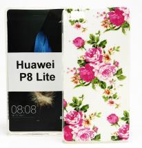 TPU Designdeksel Huawei P8 Lite