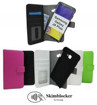 Skimblocker Magnet Wallet Samsung Galaxy J4 Plus (J415FN/DS)