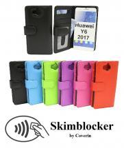 Skimblocker Lommebok-etui Huawei Y6 2017 (MYA-L41)