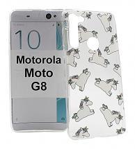 TPU Designdeksel Motorola Moto G8