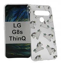 TPU Designdeksel LG G8s ThinQ (LMG810)