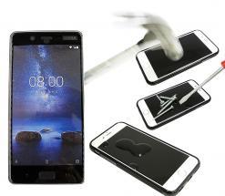 Full Frame Skjermbeskyttelse av glass Nokia 8
