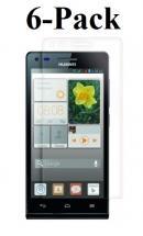 6-pakning Skjermbeskyttelse Huawei Ascend G6